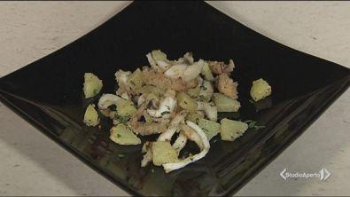 Seppioline al forno con patate