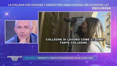La scomparsa di Anna Corona: parla la collega che scrisse l'orario per Anna Corona