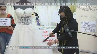 Il coronavirus ha messo in ginocchio il settore dei matrimoni