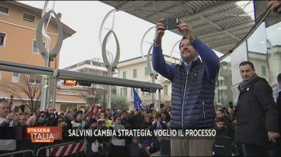 Matteo Salvini chiede il processo