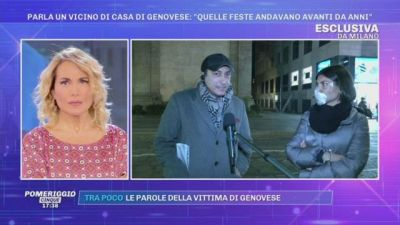 Milano, caso Genovese - Parla un vicino