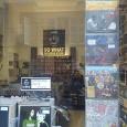 negozio con dischi