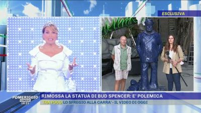 Rimossa la statua di Bud Spencer