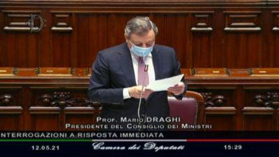 Migranti, Draghi: nessuno sarà lasciato solo in acque italiane