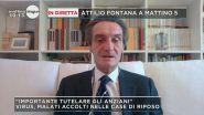 Virus in Lombardia: in diretta Attilio Fontana