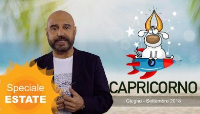 CAPRICORNO: l'oroscopo dell'estate di Antonio Capitani