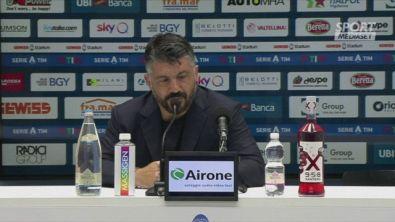 """Gattuso: """"Atteggiamento sbagliato, troppe lamentele"""""""