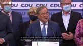 """Germania, Laschet: """"Non possiamo dirci contenti del risultato"""""""