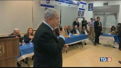 Primarie in Israele, paura al comizio