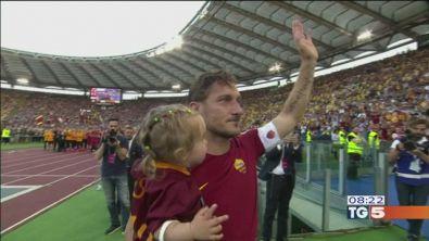 L'abbraccio di Totti