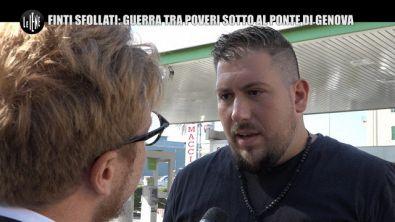 LA VARDERA: Finti sfollati: Guerra tra i poveri sotto il ponte di Genova