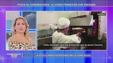 "Barbara D'Urso: ""Pizza al Coronavirus? Vergognatevi!"""