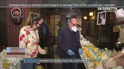 Coronavirus: lo storico ristorante di Milano che offre la cena agli anziani
