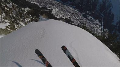 Valentin Delluc tra le Alpi francesi