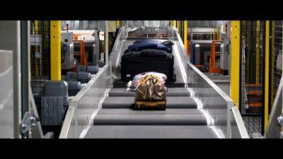 Aeroporto Bergamo, nuovo sistema smistamento bagagli automatico