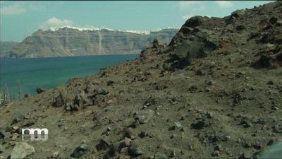Un vulcano diventato isola