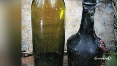 Ritrovate bottiglie di cognac del 1917