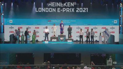 E-Prix Londra, è festa sul podio