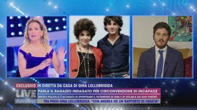 Gina Lollobrigina, per la prima volta Andrea Piazzolla risponde alle accuse
