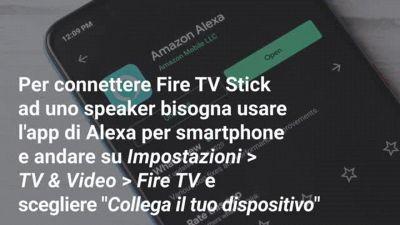 Come usare Alexa con Amazon Fire TV Stick
