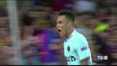 Inter per la Champions. Col Barca su Canale 5