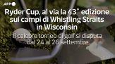 Ryder Cup, al via la 43 edizione sui campi di Whistling Straits in Wisconsin