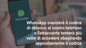 Il bug di WhatsApp che mette a rischio l'account