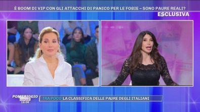 """Carmen Di Pietro: """"La claustrofobia mi ha fatto spogliare!"""""""
