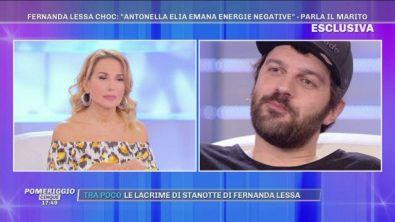 """GFVIP - """"Riti magici"""" di Fernanda contro Antonella Elia - Parla il marito della Lessa"""