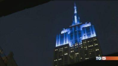 Luce blu per accendere lo sguardo del mondo