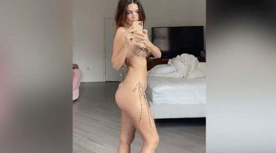 Emily Ratajkowski, stupenda a 1 mese dopo il parto