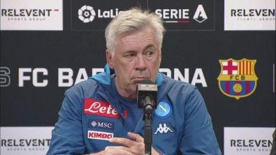 """Ancelotti: """"Due gol in fuorigioco"""""""