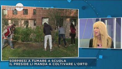 Milano: gli studenti zappatori