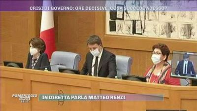 Matteo Renzi: ''Annunciamo le dimissioni delle Ministre''