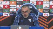 """Sarri: """"Dopo Lazio-Inter neanche un rosso, io invece..."""""""