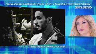Paola Caruso e la guerra con Ivan