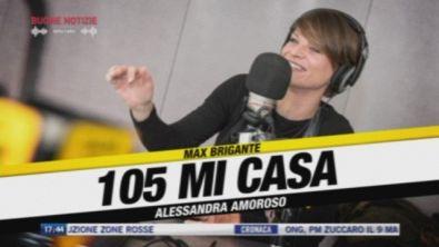 Alessandra Amoroso a 105 mi casa