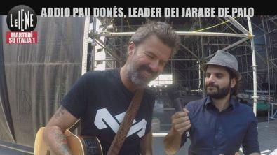 Ciao a Pau Donés, il cantante dei Jarabe de Palo | VIDEO