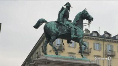 Torino, selfie estremo