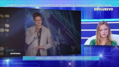 Gabriel Garko : basta col segreto di Pulcinella