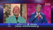 Le previsioni di Sorrentino su Milan-Atletico