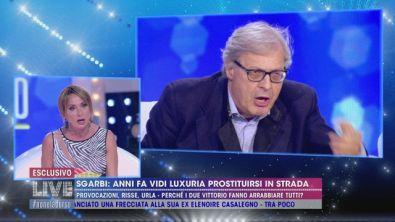 Luxuria-Sgarbi: il confronto