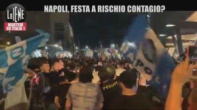"""A Napoli folla in strada dopo la Coppa Italia, l'Oms: """"Sciagurati"""""""
