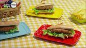 Sandwich con macinato di pollo