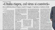 "Renzi: ""Riapertura fabbriche dopo Pasqua"""