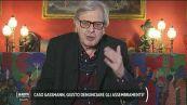 """Riaperture, Vittorio Sgarbi: """"Il virus comincerà a calare, per questo Draghi fa bene a riaprire"""""""
