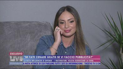 L'influencer Valentina Pivati: vacanza a sbafo