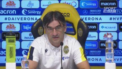 """Verona, Juric: """"Da Lecce frasi infelici"""""""