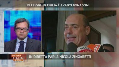 Elezioni: parla Nicola Zingaretti