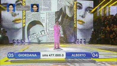 Alberto vs Giordana - La finalissima - IV esibizione